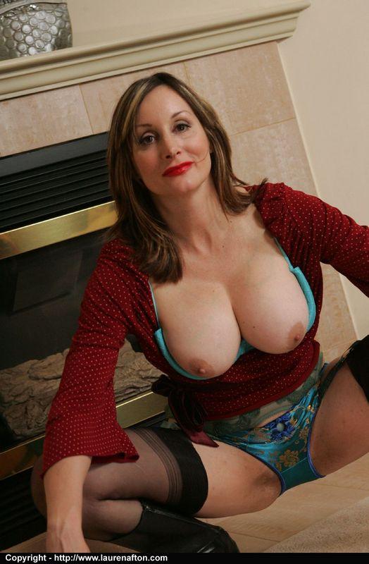 Model In Black Stockings Abigail Fraser