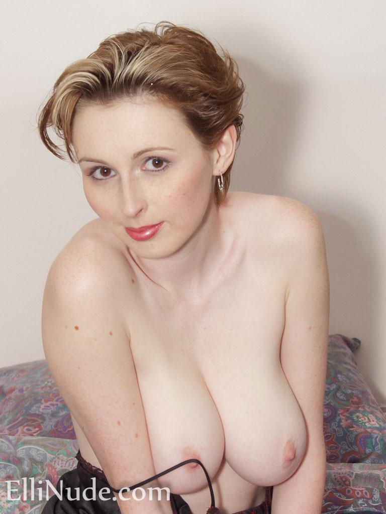 Sheer nightgown milf