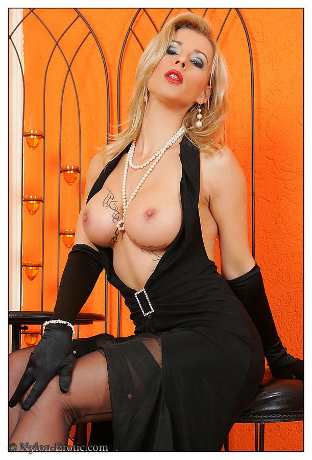 Nylon jane wearing stockings idea brilliant