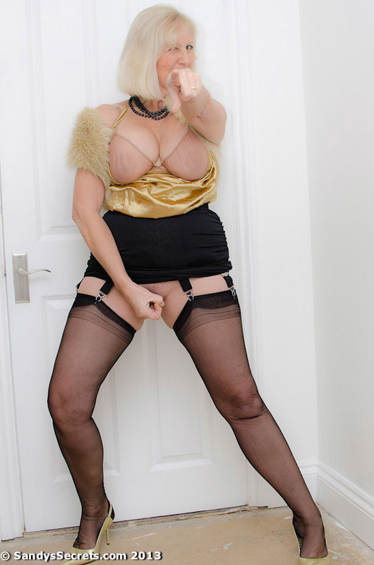 Sandys secrets nylons stockings