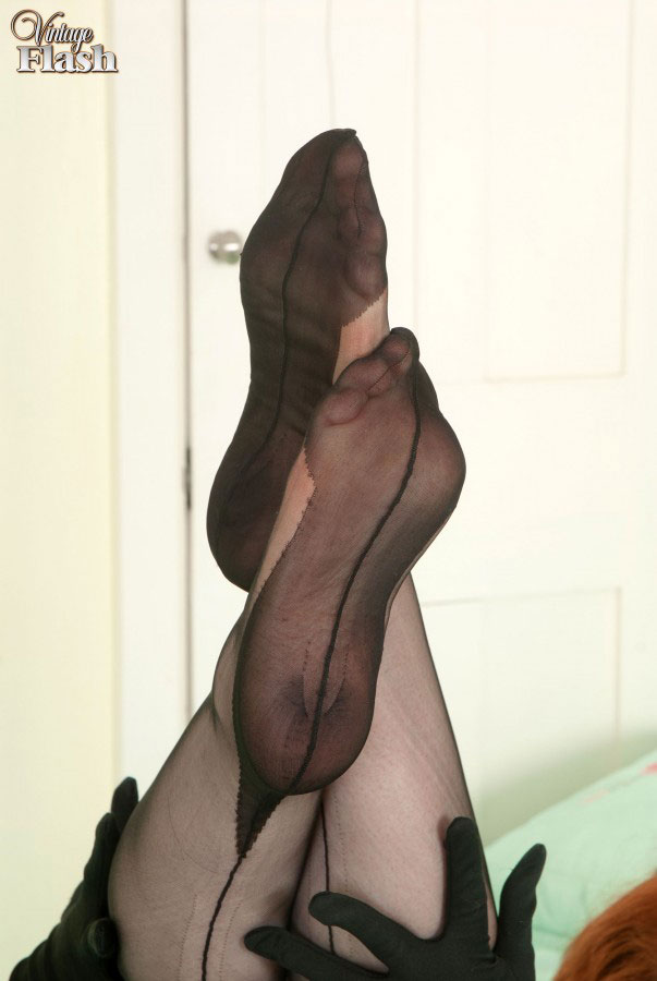Fashion pantyhose sex in dark final, sorry