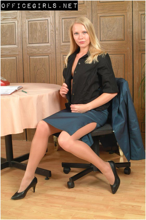 Office girls gallery from world of clothing fetish - Office girls in stockings ...